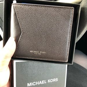 """Brown leather wallet """"NWOT"""""""